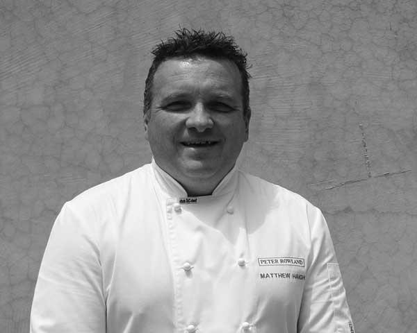 Matthew Haigh Group Executive Chef at Peter Rowland