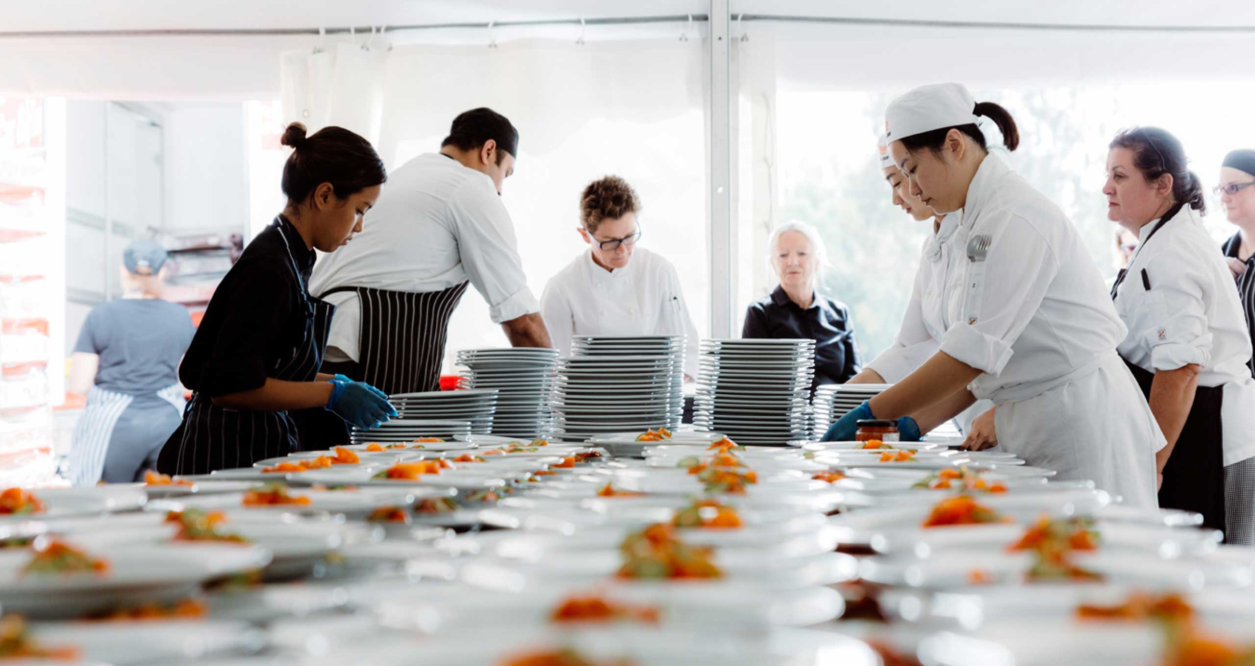 Meal Preparation by Peter Rowland Catering