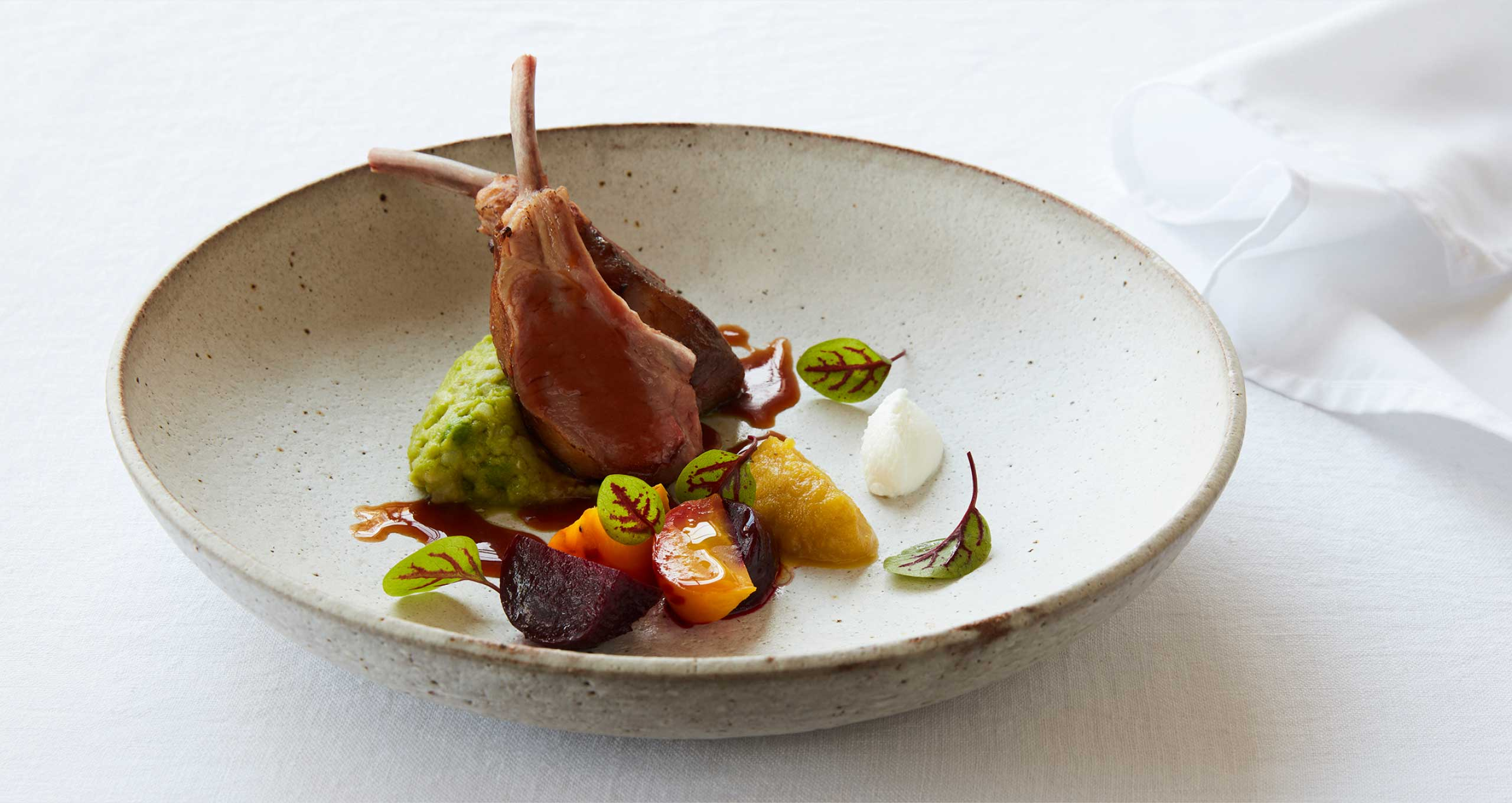 Lamb and Vegetables prepared as part of our Corporate Menu