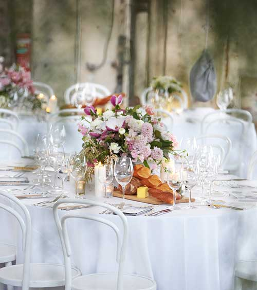 Floral Centrepieces by Peter Rowland
