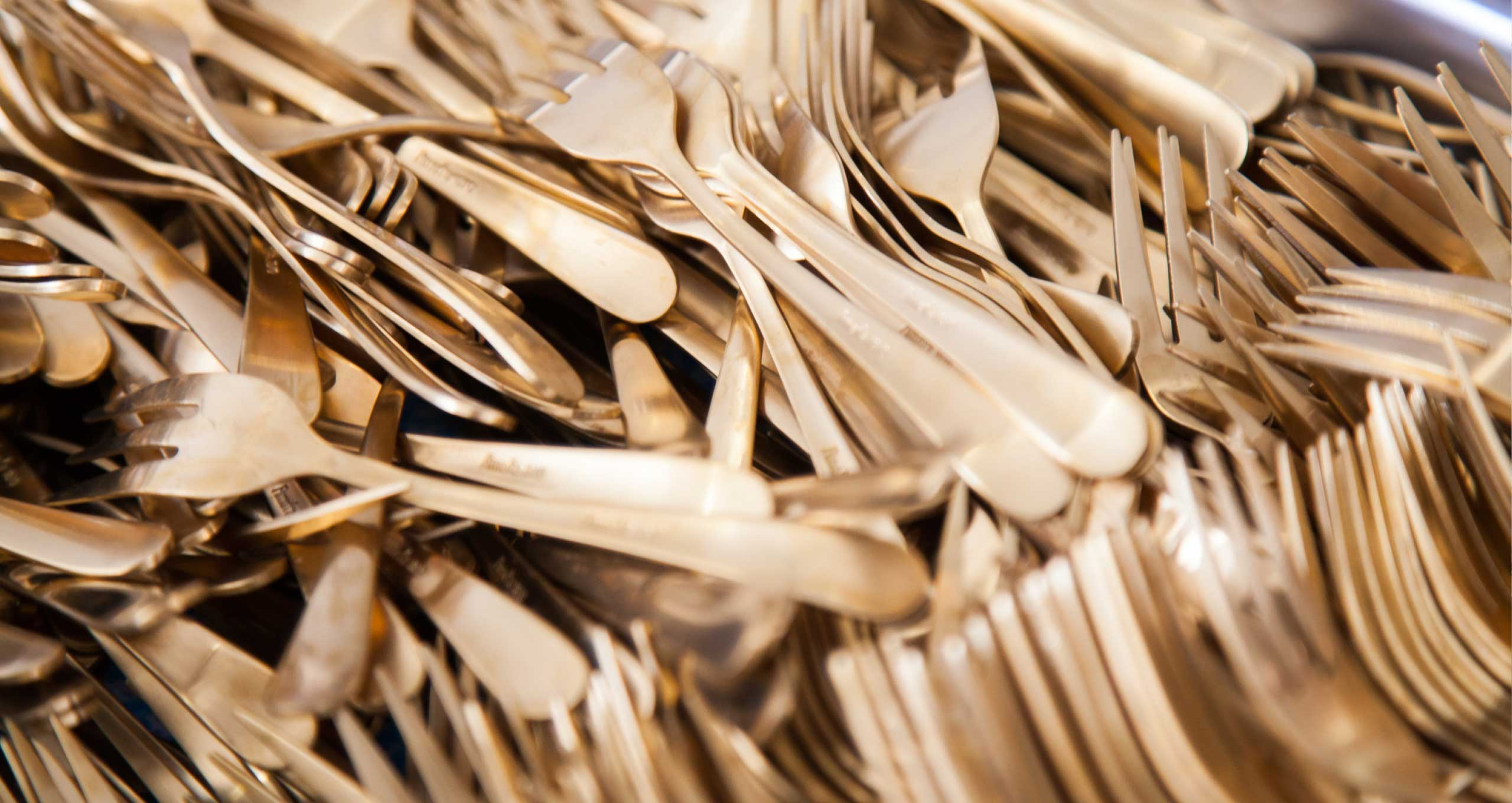 Silverware for private events