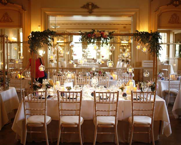 Elegant interiors at Peter Rowland Venue, Rippon Lea Estate