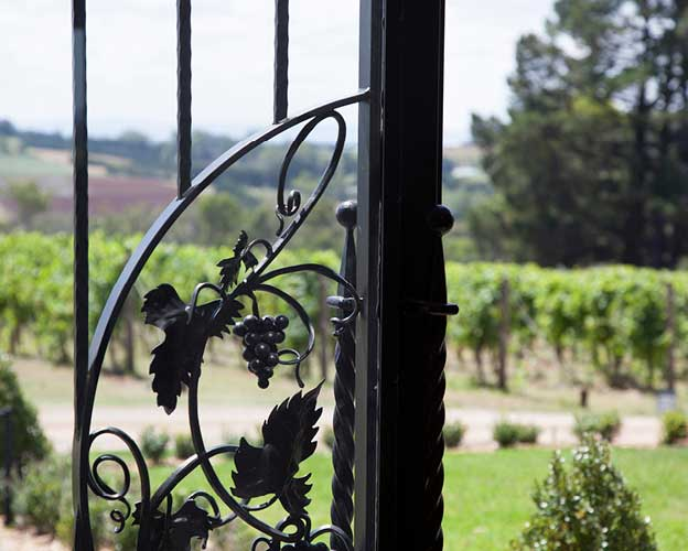 Sir Paz Estate is a Peter Rowland Venue with a beautiful vineyard