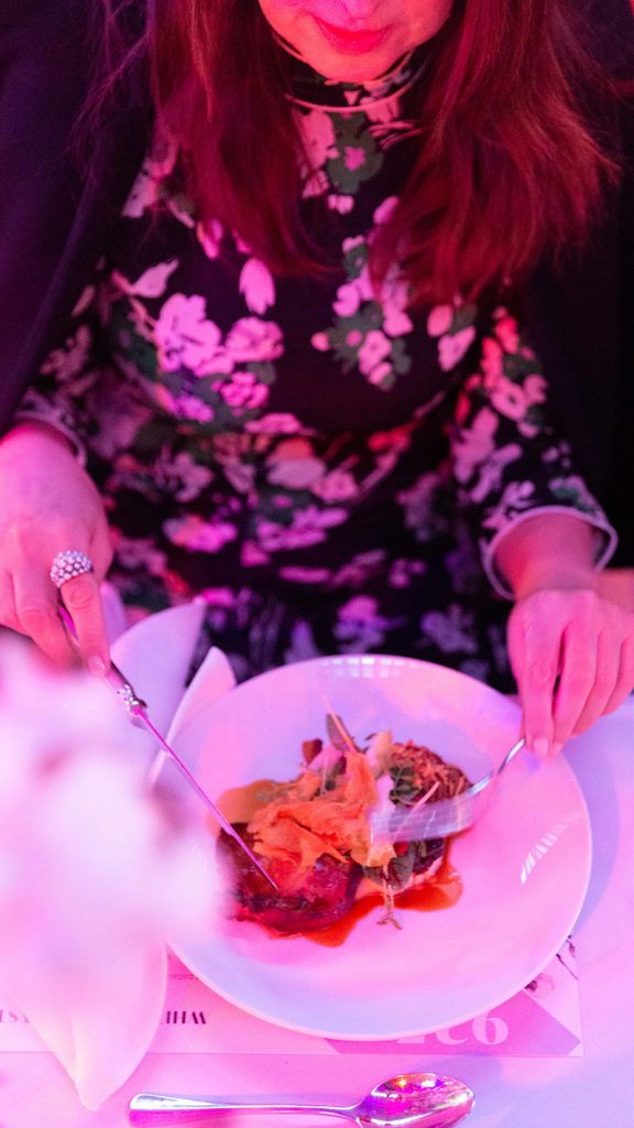 Peter Rowland White Night Main Course Dining Experience Catering and Events
