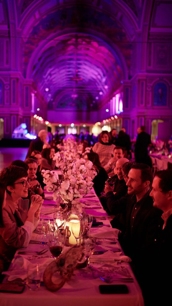 Peter Rowland White Night Guests Having Fun Catering and Events