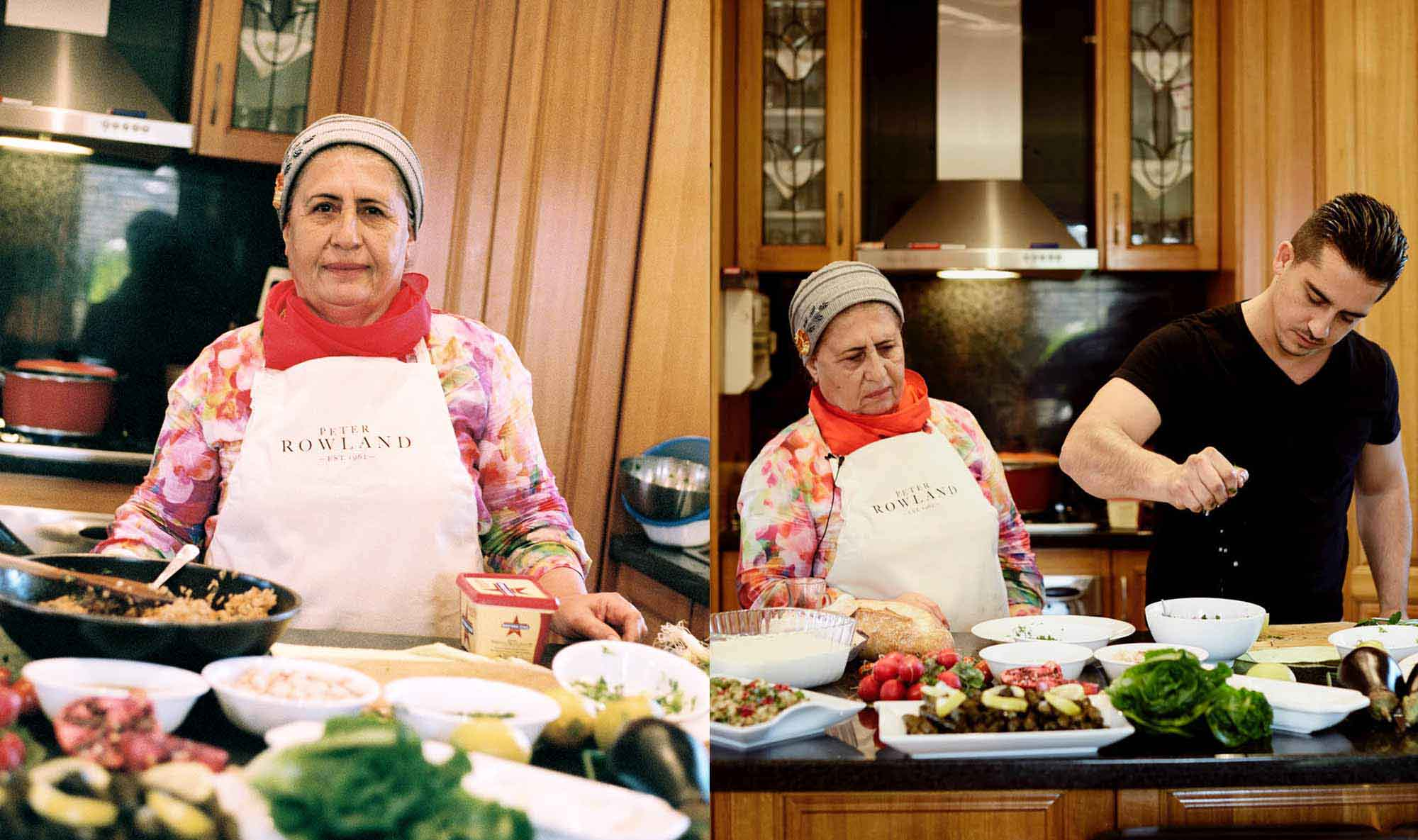 Turkish-born Fatma and her restaurateur son Kemal