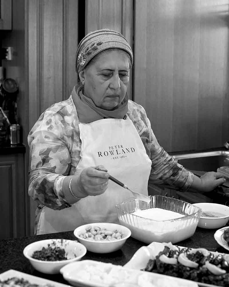 Classical Turkish cooking with Fatma Barut