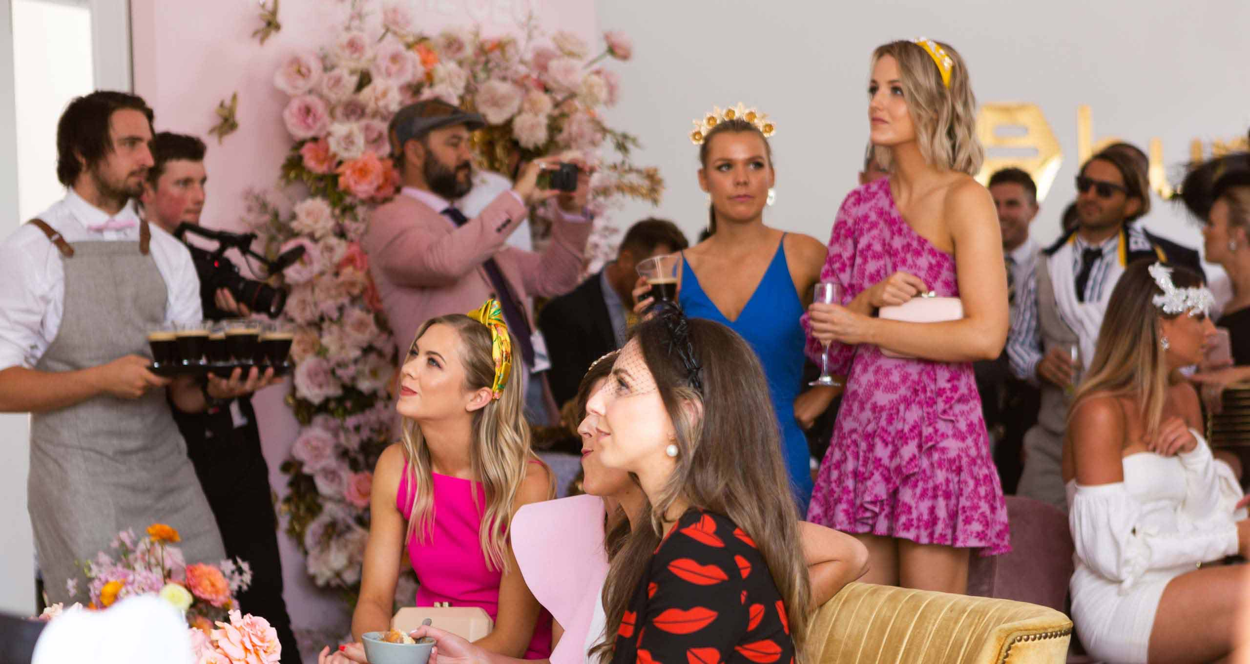 Women at the Melbourne Cup Carnival