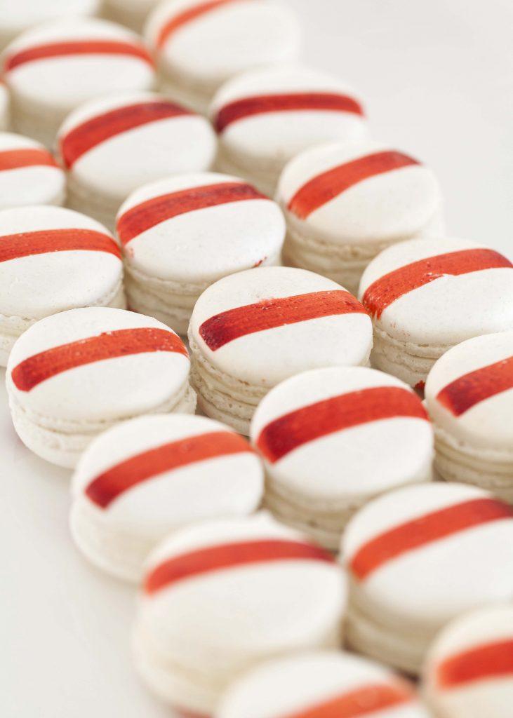 Peter Rowland Carparks Catering Macaron Dessert