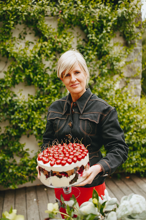 Peter Rowland Melissa Penfold Black Forrest Trifle