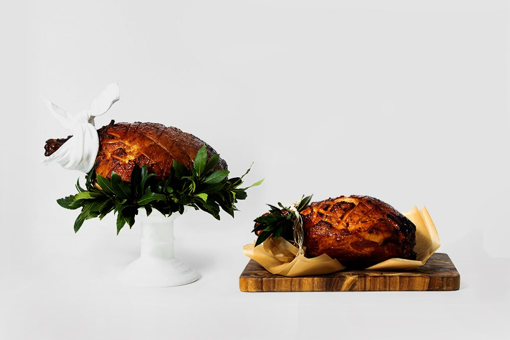 Peter Rowland Christmas Ham With And Without Bone