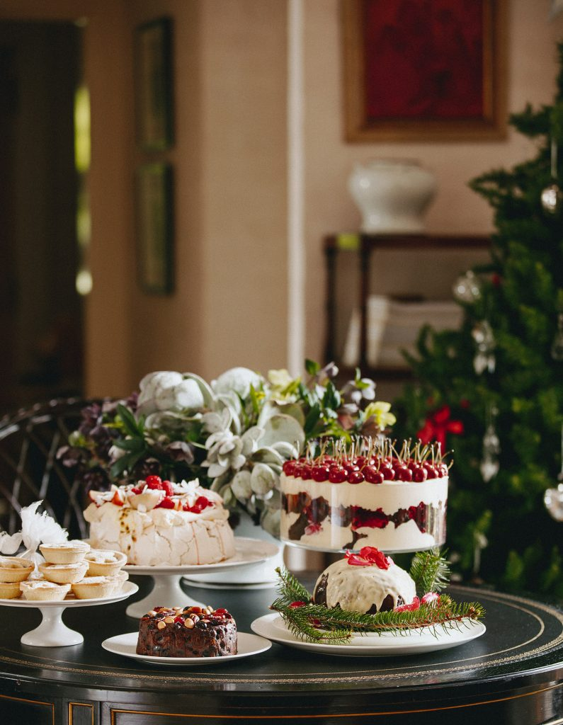Peter Rowland Dessert Table Pavlova Christmas Indoors