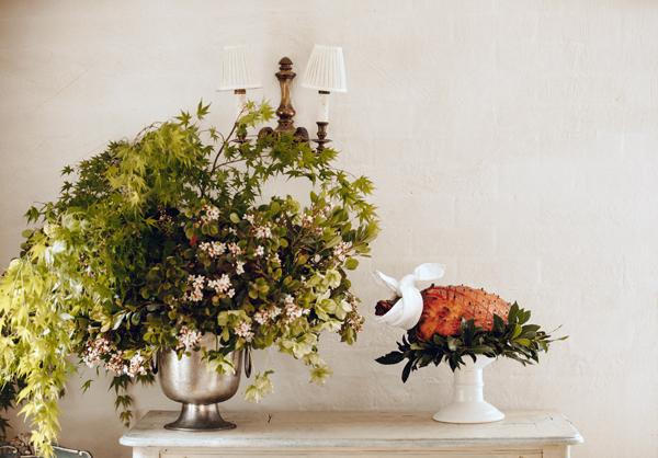 Peter Rowland Christmas Festive Feasting Ham On Table Blog
